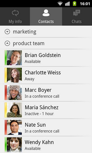 Lync 2010 for Android