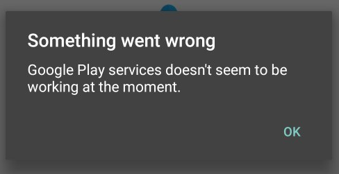 Android Auto - Google Play services doesn't seem to be working at the